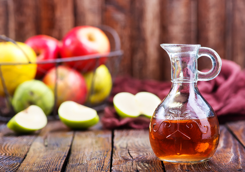 Drinking one tablespoon of raw apple cider vinegar about 20 minutes before meals can help to boost stomach acid production