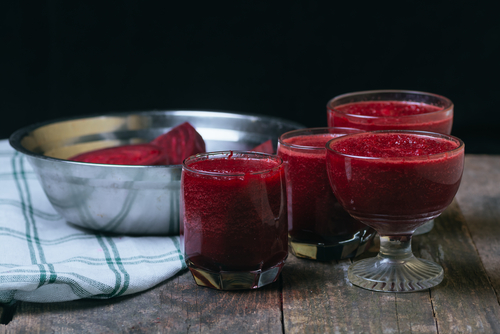 Drinking beet juice can give you an idea of whether or not your HCL levels are low