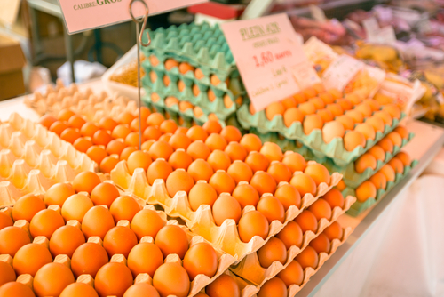 buy top quality eggs at a better price, try your local farmers market