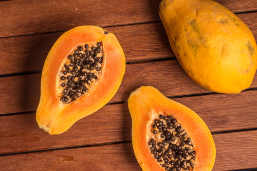 papaya is actually the food highest in vitamin C