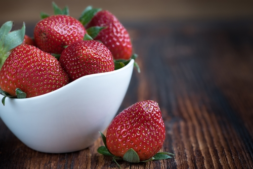 Strawberries are known for their cardiovascular and blood sugar regulating benefits