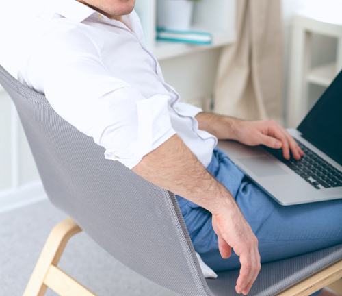 1 hour of sitting can lessen the blood flow to your main arteries