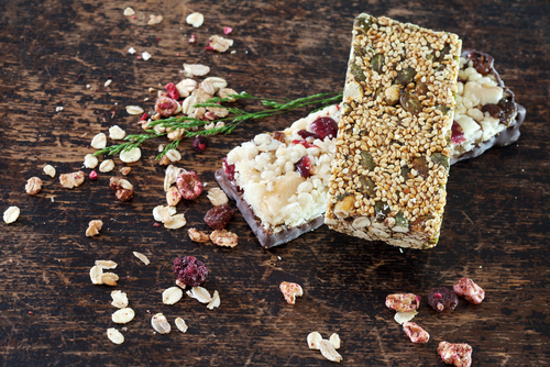 These tasty and nutrient dense bars include sprouted nuts and seeds