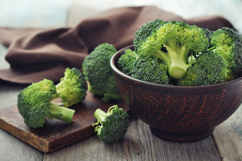 Broccoli supports proper eye function