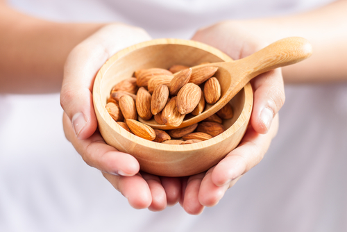 If weight loss is your goal, stick to eating almonds