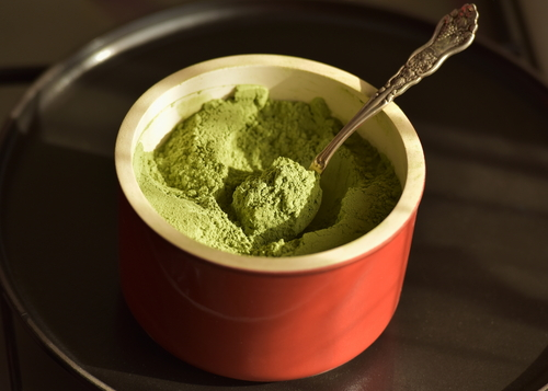 Greens powder is made of 100% whole foods but in a concentrated, easy-to-take form