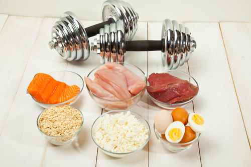 Protein is essentially the building blocks for all of our body's cells