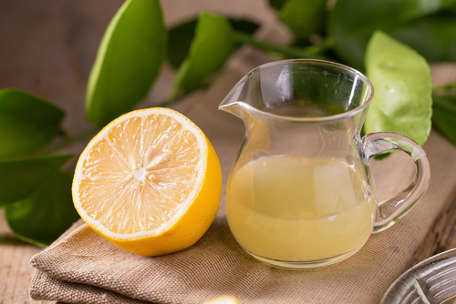 Lemons balance out the PH Levels in your body