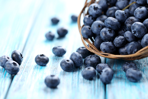 There are many health benefits to Blueberries
