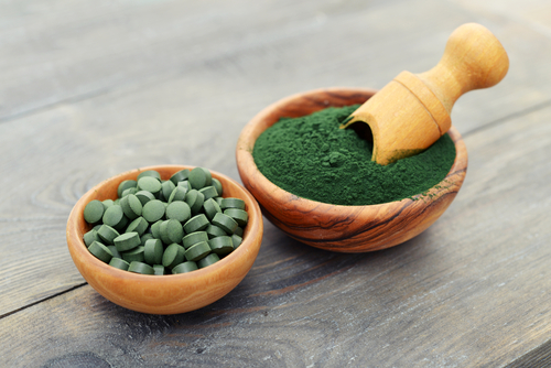 Both spiruilna and chlorella are microalgaes, and are incredibly nutrient dense