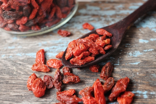 Goji Berries are powerful antioxidants